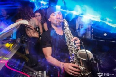 Saxophone Photography For Nightclubs - E17